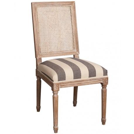 Krzesło Belldeco o ciekawym, nietypowym kształcie z miekkim siedziskiem
