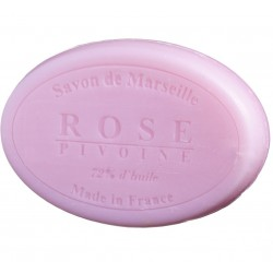 Mydło Marsylskie Róża Piwonia Owalne