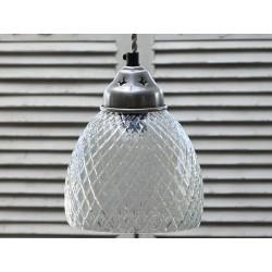 Szklana Lampa Romby