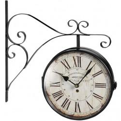Retro Zegar Kolejowy Belldeco