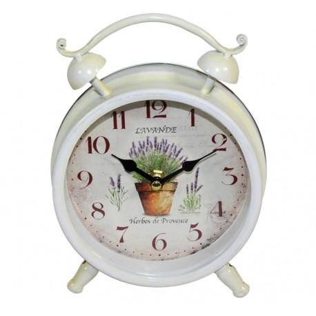 Zegar Stojący z motywem lawendy