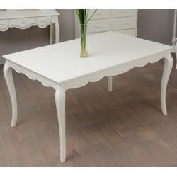 TABLE 140X90 KD CREME BEAUVOIR