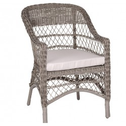 Krzesło z Poduszką Chic Antique Polirattan