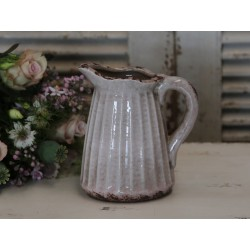 Dzbanek Ceramiczny Chic Antique Pudrowy