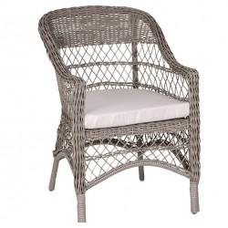 Krzesło Ogrodowe z Poduszką Chic Antique