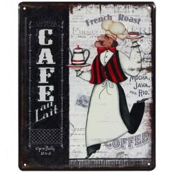 Tabliczka Retro Kawa