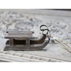 Saneczki Drewniane Chic Antique