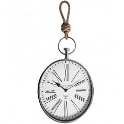 Zegar Kolejowy Belldeco Srebrny