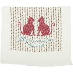 Ręcznik Kuchenny z Ptaszkiem