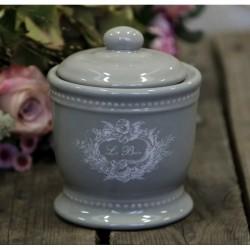 Pojemnik Ceramiczny Le Bain Szary