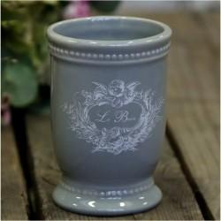 Kubek Ceramiczny Le Bain Szary