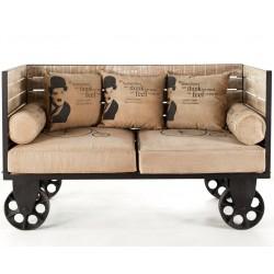 Sofa Loftowa Mazine Charlie Chaplin
