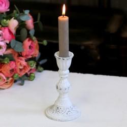 Biały Świecznik Chic Antique 1
