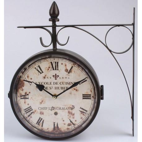 Zegar Dworcowy Vintage