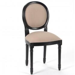 Krzesło Prowansalskie Czarne Alani