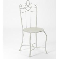 Metalowe Krzesło Prowansalskie Tivoli