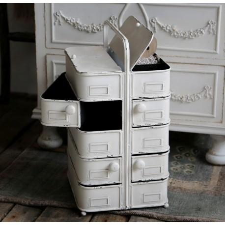 Metalowa szafka z szufladmi