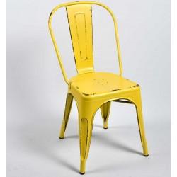 Krzesło Belldeco Metalowe Białe