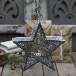 Wiszący Świecznik Gwiazda