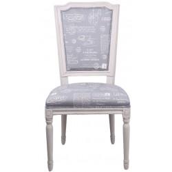 Krzesło w Stylu Francuskim Romi