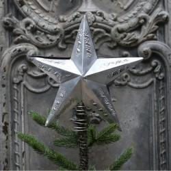 Szpic Na Choinkę Chic Antique Gwiazda