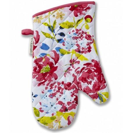 Prowansalska rękawica kuchenna z kwiatami