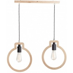 Lampa Skandynawska Bulb Brązowa 2