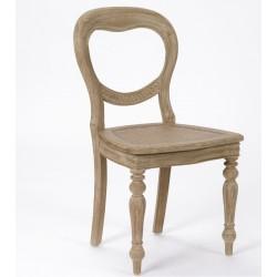 Bielone krzesło