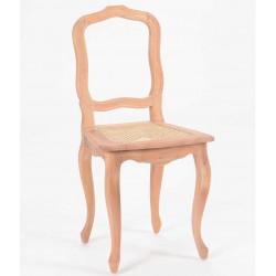 Krzesło Prowansalskie Brązowe Mahoń