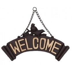 Zawieszka Welcome Żeliwna