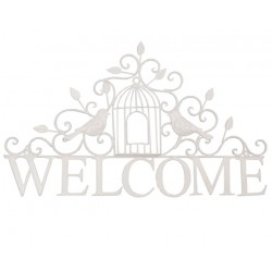 Napis Welcome Ozdobny 3
