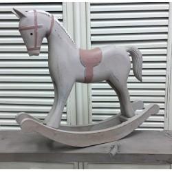 Drewniany Koń Na Biegunach 2