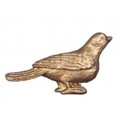 Gałki Meblowe Złote Ptaszek