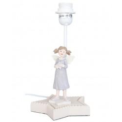 Lampka Stojąca Dziecięca z Dziewczynką