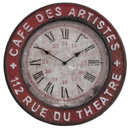 Zegar Industrialny Metalowy A