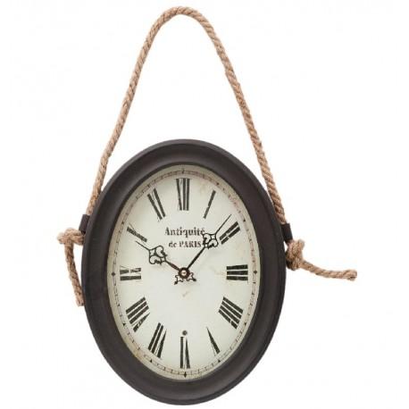 Metalowy Zegar Na Sznurku