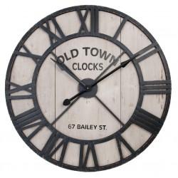 Duży Zegar Loft Old Town