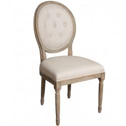 Krzesło Belldeco Dębowe Pikowane A