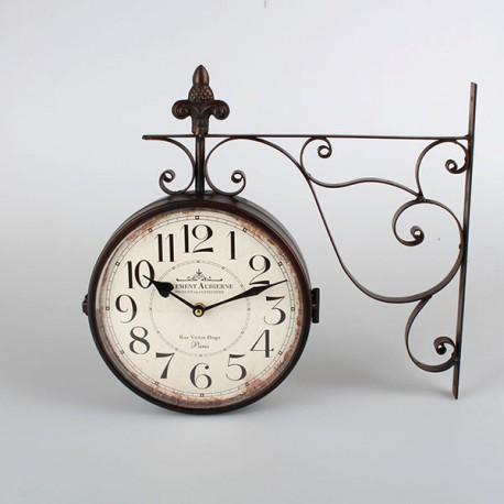 Zegar Dworcowy z Lilijką B