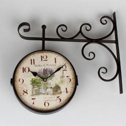 Zegar Dworcowy z Lawendą B