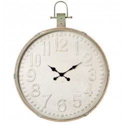 Duży Zegar Metalowy Ze Sznurem