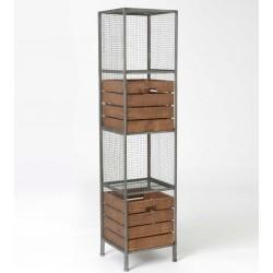Metalowy Regał Loft