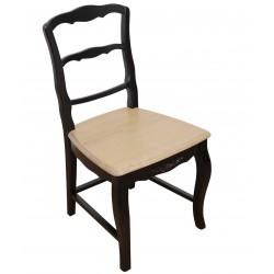 Czarne Krzesło Prowansalskie Nero A