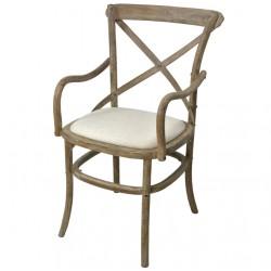 Krzesło Prowansalskie z Podłokietnikami Limena
