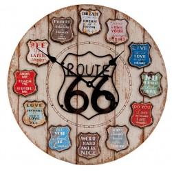 Zegar Ściennny Route 66