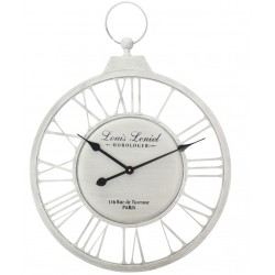 Zegar Metalowy Prowansalski Paris