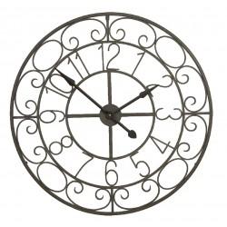 Duży Zegar Metalowy