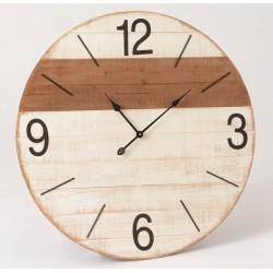 Duży Zegar Drewniany B