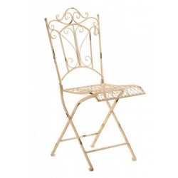 Krzesło Metalowe Aluro Jardin