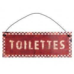 Zawieszka Metalowa Toilettes